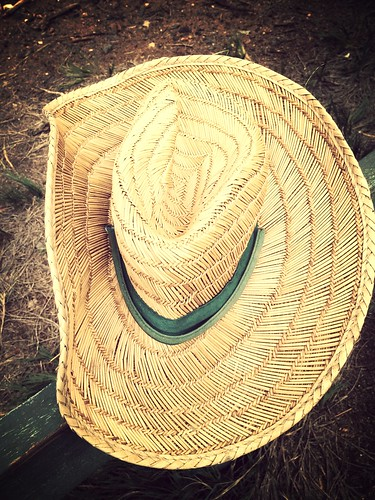 Another Roadside Find: Beach Hat | by Hugger Industries