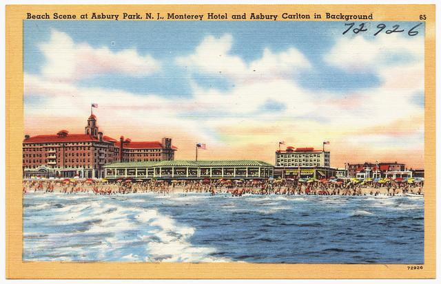 Monterey Hotel Jersey Menu