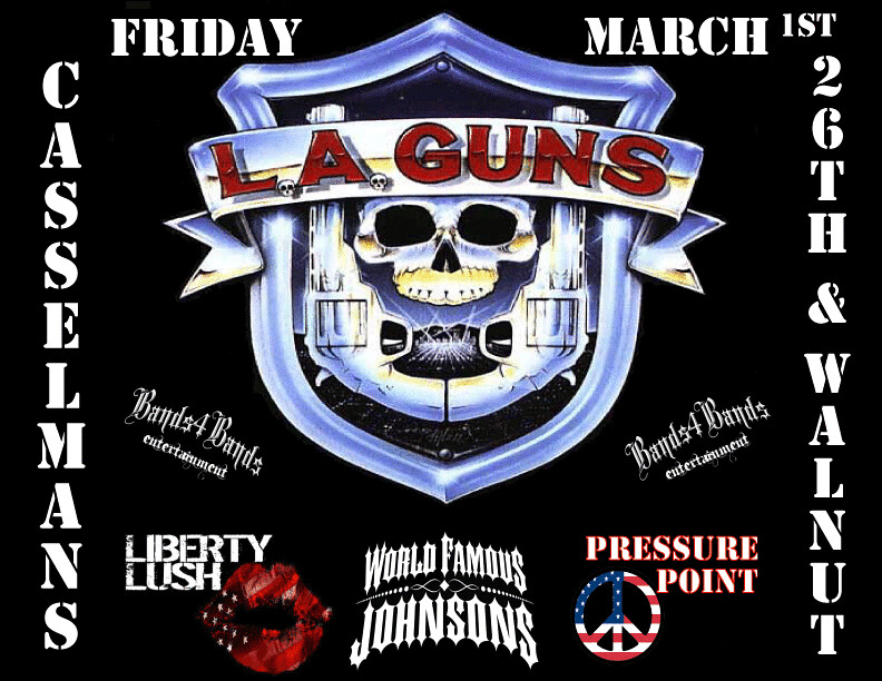 World Famous Guns World Famous Johnons And l a Guns