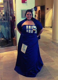 TARDIS dress (door closed). | by jere7my