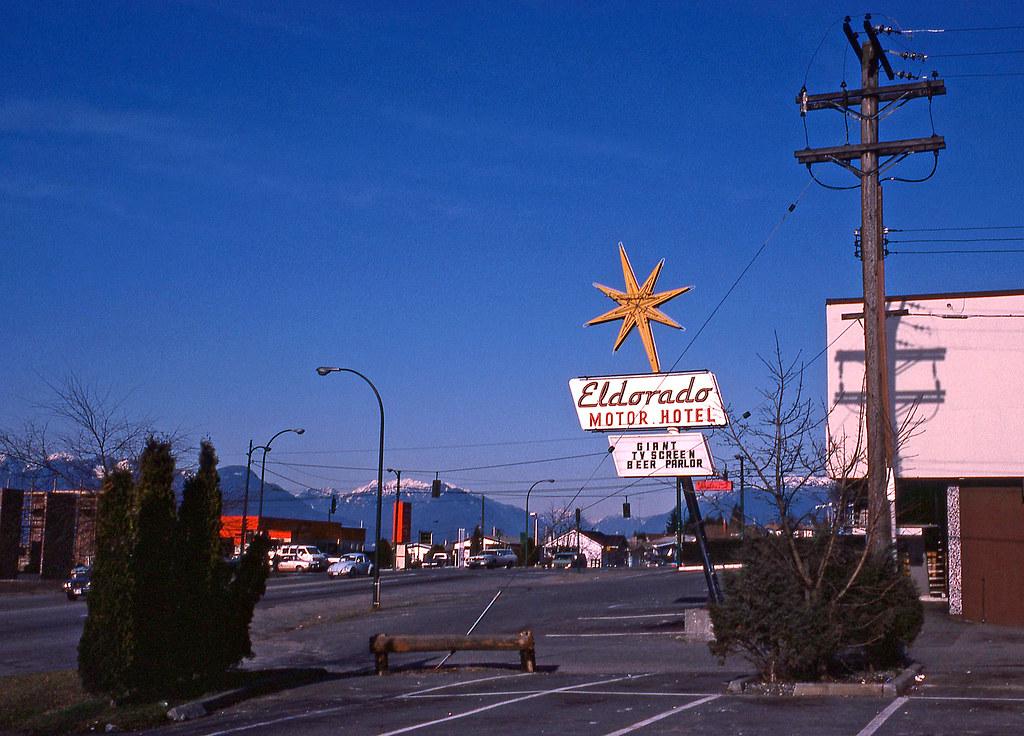 Eldorado Motor Hotel Vancouver March 1978 2330