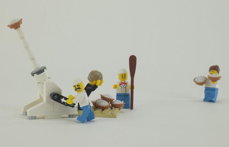 Schrippenkneter's pie-howitzer