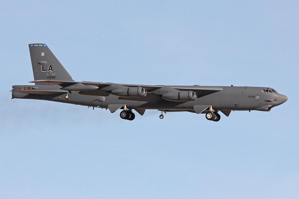 Boeing B 52h Stratofortress 60 008 La 8th Af Flickr