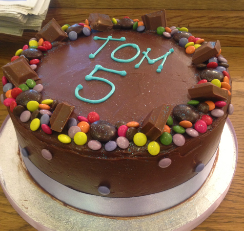 Birthday Cake Recipes Pictures : Childrens Chocolate Birthday Cake Claire Wolterink Flickr