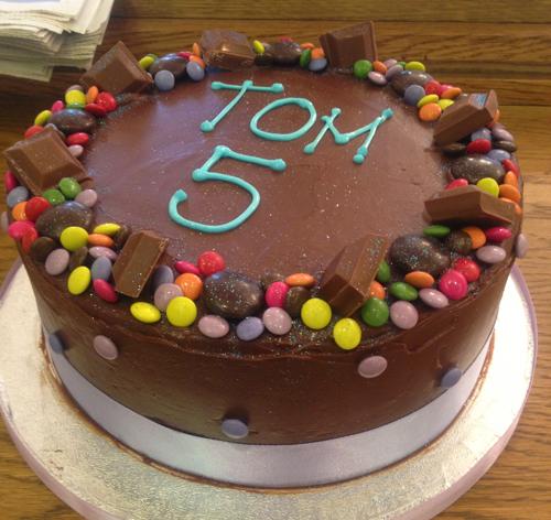 Childrens Chocolate Birthday Cake Recipe