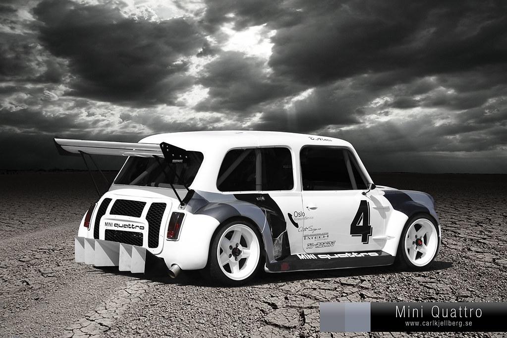 New Mini Cooper >> Mini Quattro Cooper   www.carlkjellberg.se   Carl ...