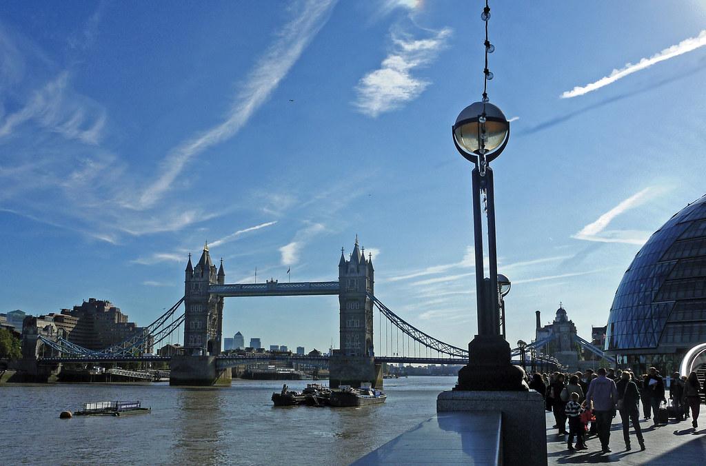 London Landscape On A Crisp Autumn Morning Taken From