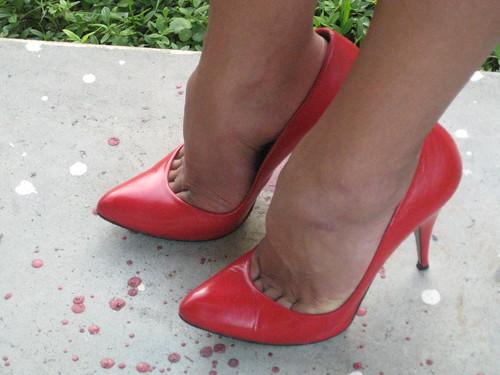 Hi Cut Shoes Leather