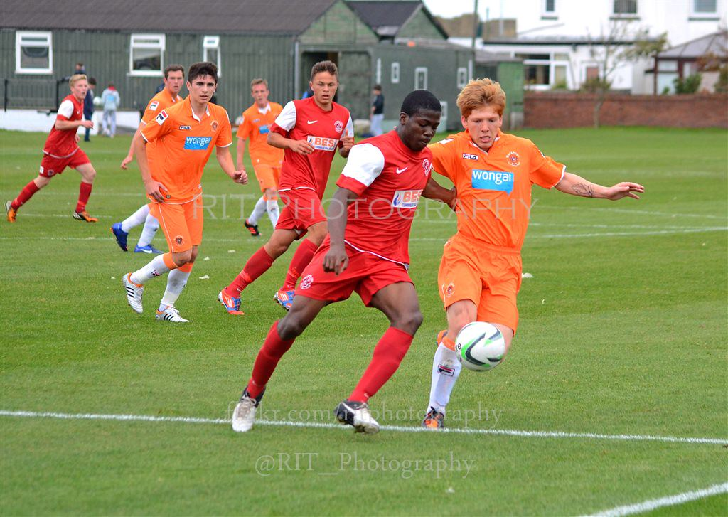 Blackpool FC Youth V Fleetwood Town FC Youth | Richard Travis | Flickr