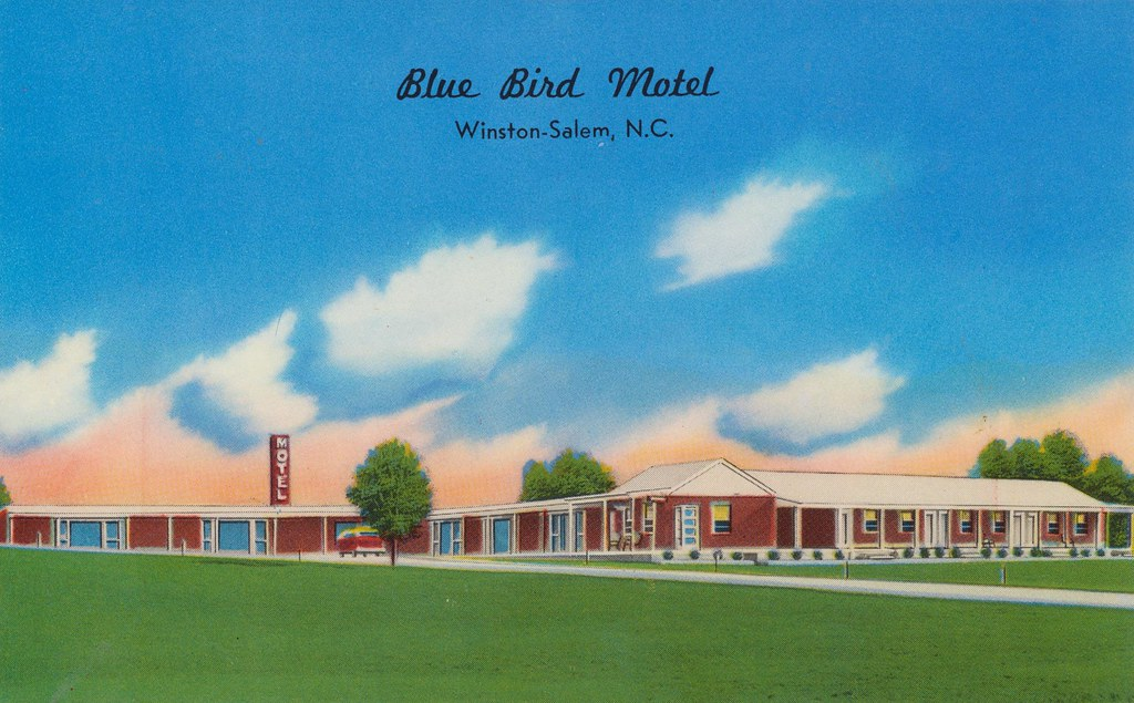Blue Bird Motel - Winston-Salem, North Carolina