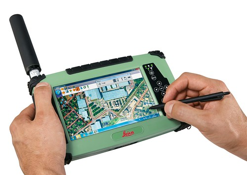 New Leica CS25 GNSS Tablet | by @gletham GIS, Social, Mobile Tech Images