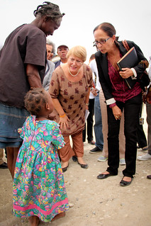 UN Women Executive Director Michelle Bachelet in Haiti | by UN Women Gallery