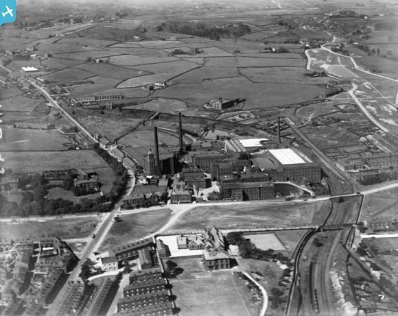 Fieldhouse Carpet Mills Whitworth Road Rochdale 1926