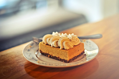 Pumpkin Cheesecake Bar at Semisweet Bakery, Downtown Los Angeles | by r.e. ~
