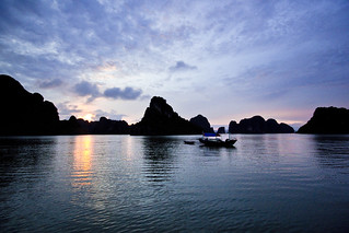 Halong Bay sunset | by alfieianni.com