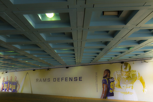 St Louis Rams Defense (Tunnel Wall) | by alexknip
