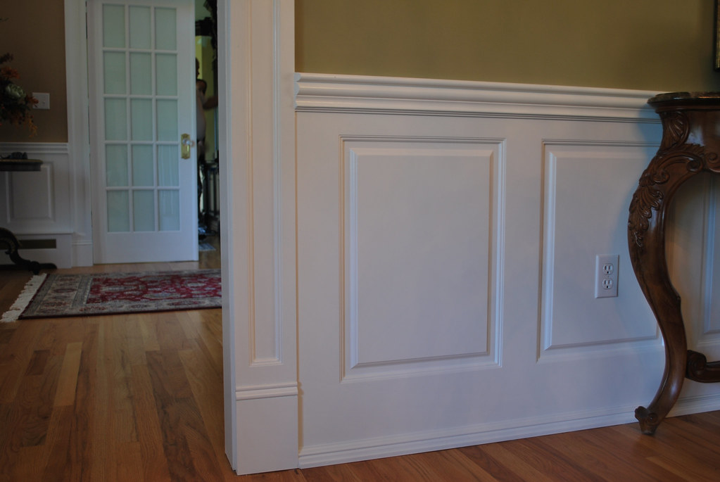 Beaded Raised Panel Wainscoting by WainscotingAmerica.com | Flickr on