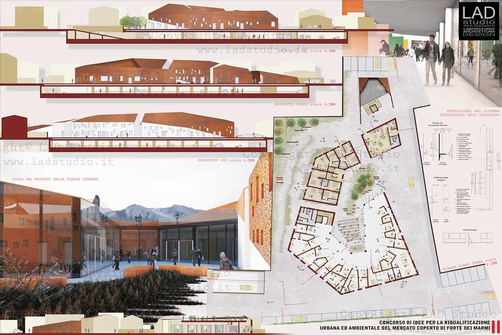 Lad studio 4lad 4te tavola 2 concorso di idee per la - Tavole di concorso architettura ...