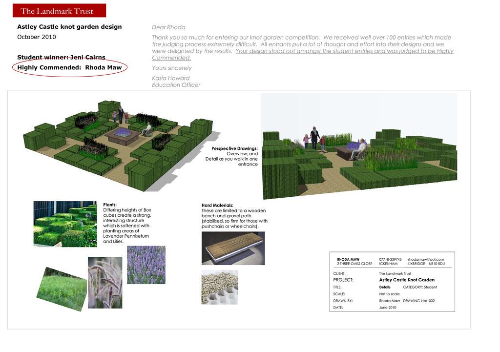 Rhoda maw garden design castle knot garden rhodamaw for English knot garden designs