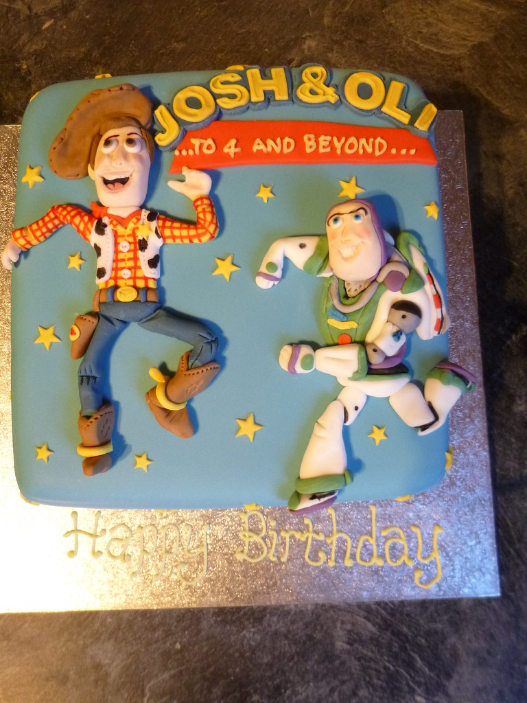 Woody And Buzz Cake Pan