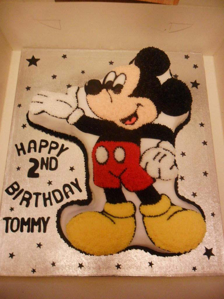 Disney Mickey Mouse 2nd Birthday Cake Elizabeth Flickr