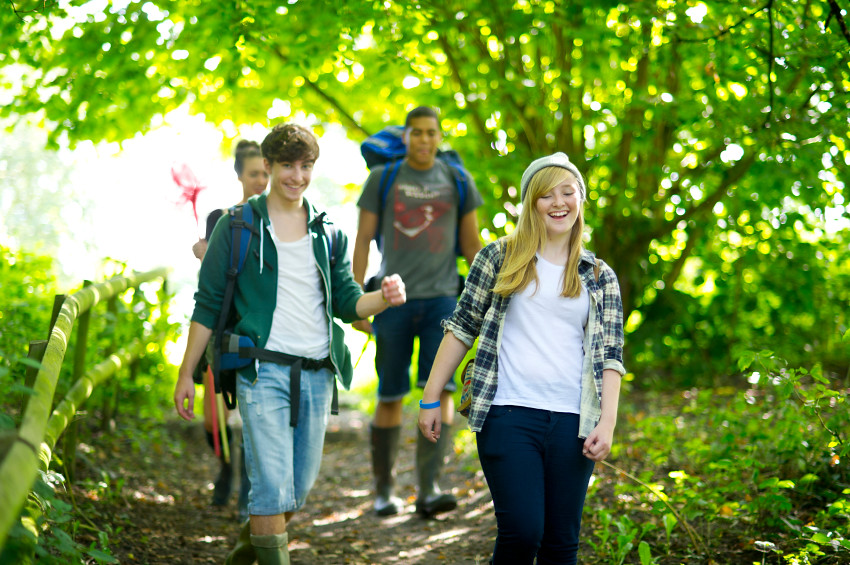Teen Hiking 84