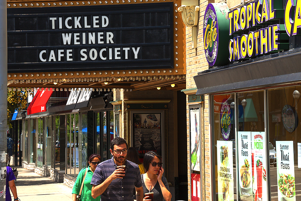 TICKLED WEINER CAFE SOCIETY