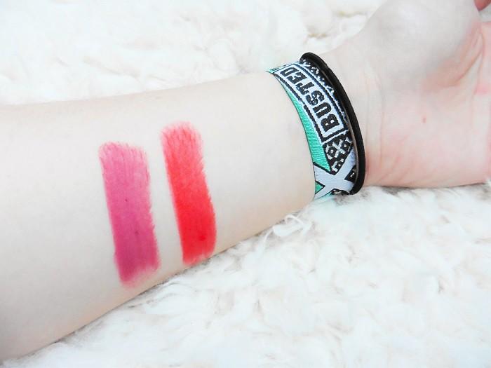 Seventeen Mega Matte Lipstick Swatches