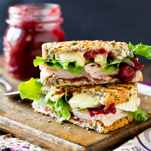 Grilled Turkey & Brie Cranwich | by TheBrewer&TheBaker