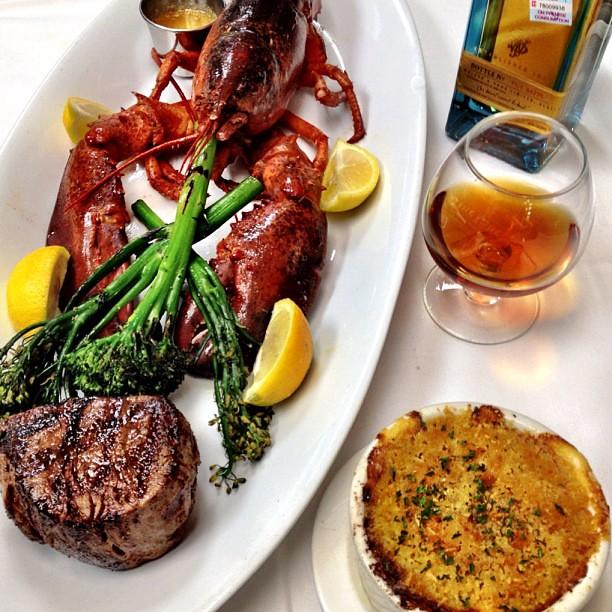 Steak and Lobster #food #foodporn #instagood #instagram #i ...
