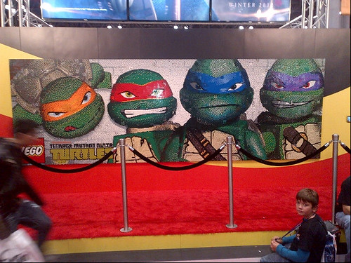 LEGO Booth TMNT mural finished BM | by fbtb