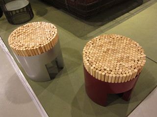 Kenneth Cobonpue stools | by chuvaness