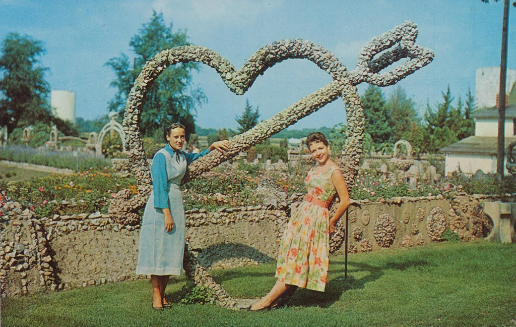 Delightful ... Rockome Gardens   Chesterville, Illinois | By The Cardboard America  Archives