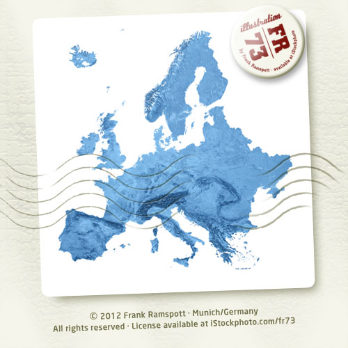 Europe Topographic Map Isolated 3d Render C 2012 Frank Ra Flickr