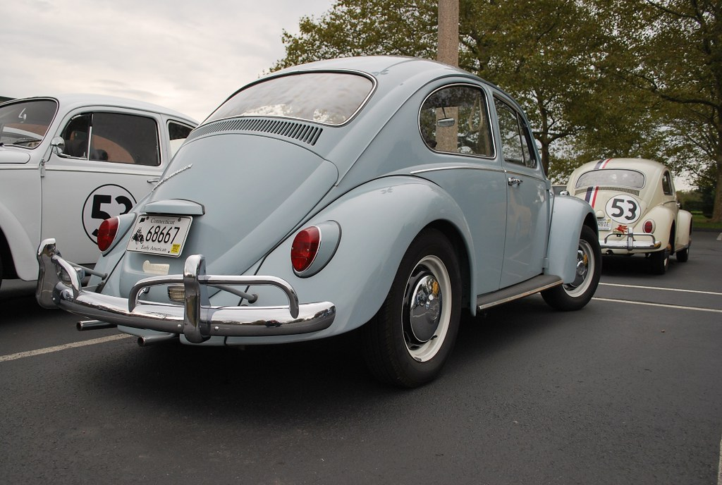 1967 VW Beetle in Zenith Blue | Nice, original '67 Bug I saw… | Flickr