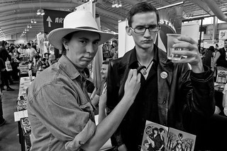 NYCC 2012: Max and Neil as Alan and Ian | by Kevin Church