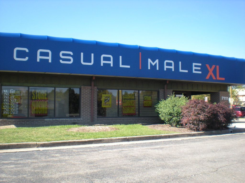 Find your nearest Casual Male Big & Tall store locations in United States.