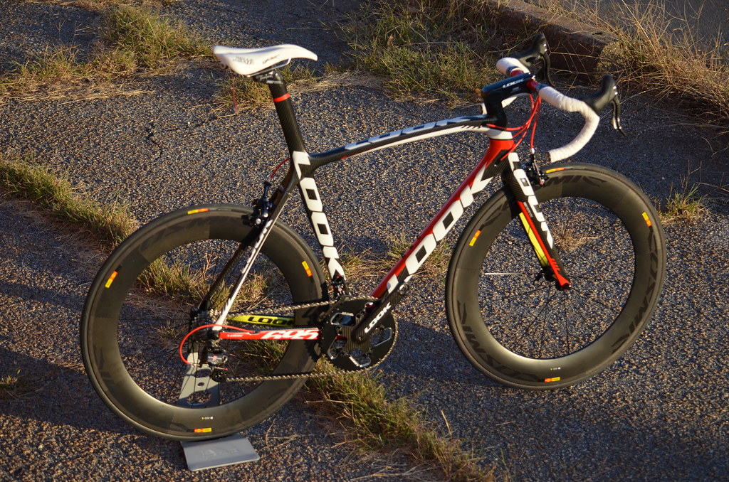 08 >> 2013 Look 695 SR Pro Team with Super Record and Mavic Cosm… | Flickr