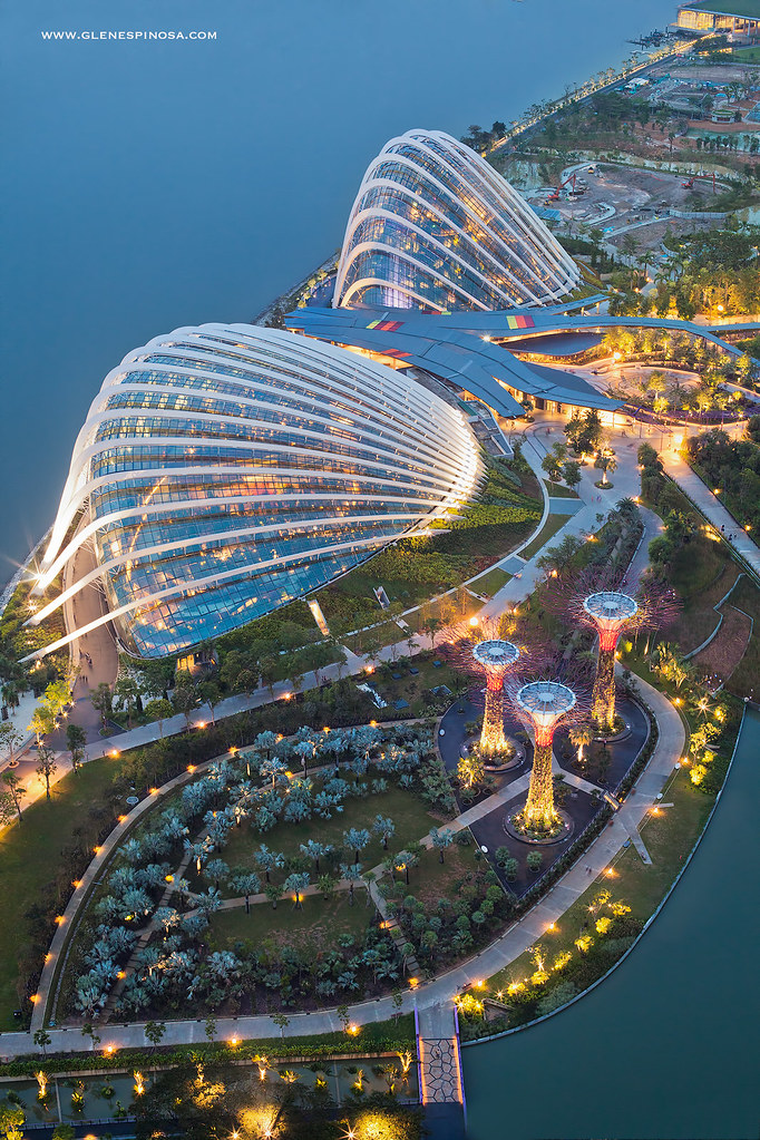Gardens by the Bay, Singapore. [OS] [682 × 1024].