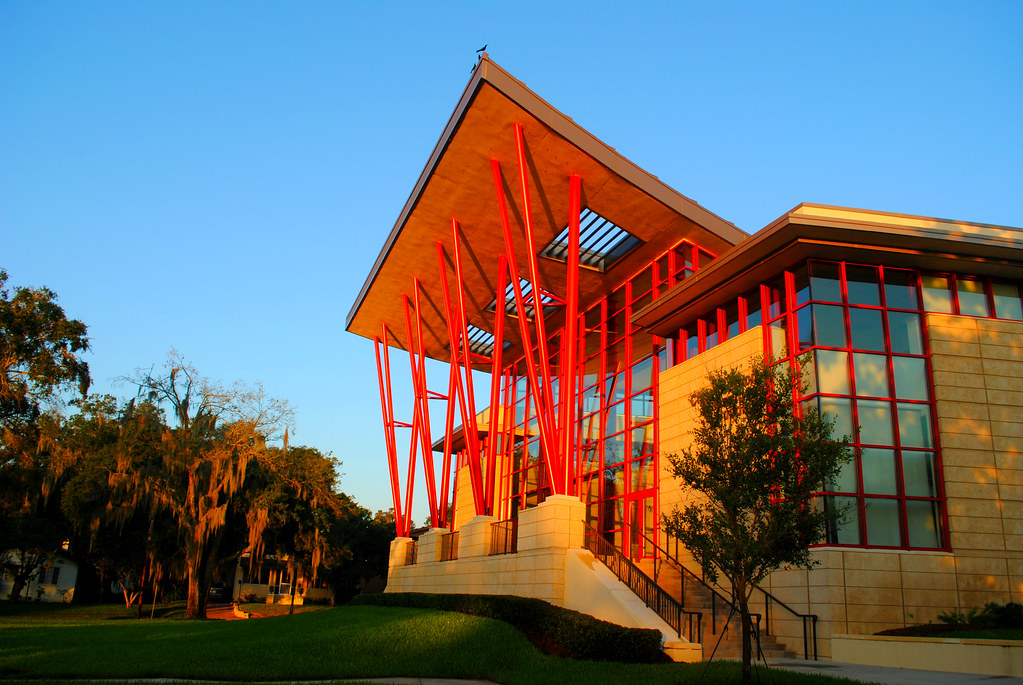 Bon ... Frank Lloyd Wright Architecture...Florida Southern College At Sunrise |  By Gio