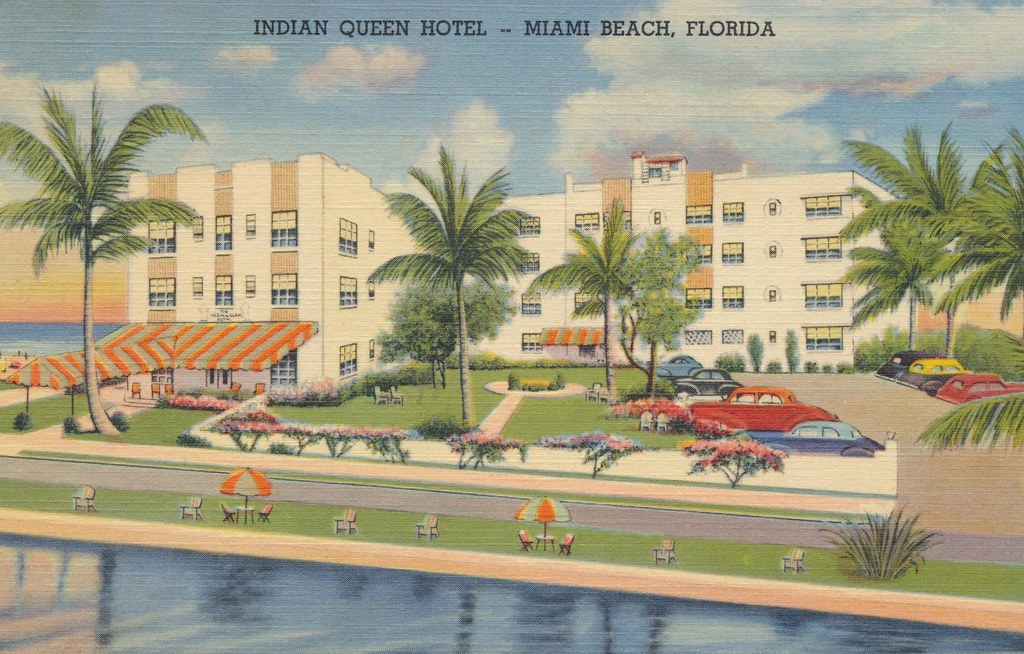 Indian Queen Hotel - Miami Beach, Florida