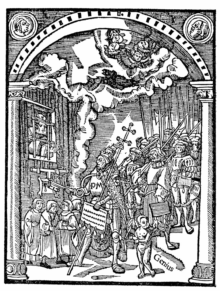 Erasmus Julius Ii Barred From Heaven In One Of Erasmus