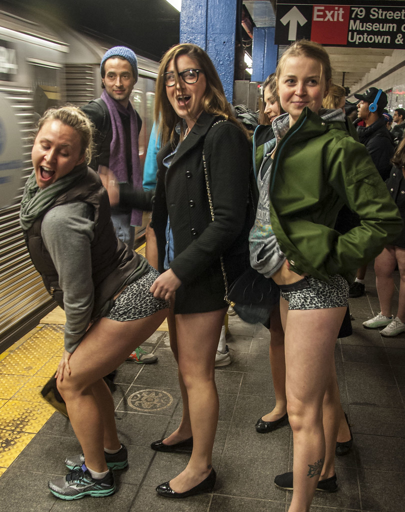 No Pants Subway Ride 2013  Manhattan  J-No  Flickr-7896