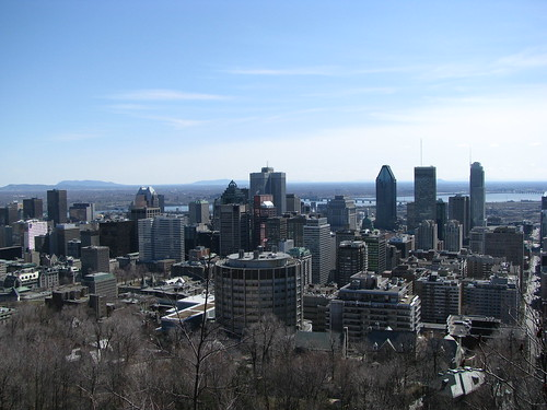 Montreal skyline from Mount Royal | by shankar s.