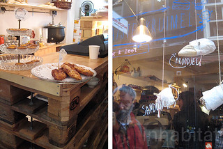 Amsterdam's Recycled Pallets Bakery | by Inhabitat