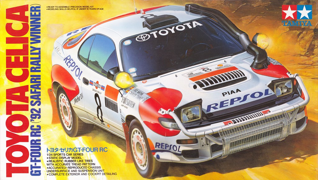 St185 Toyota Celica Gt Four Rc Repsol Safari Rally 1992 Wr