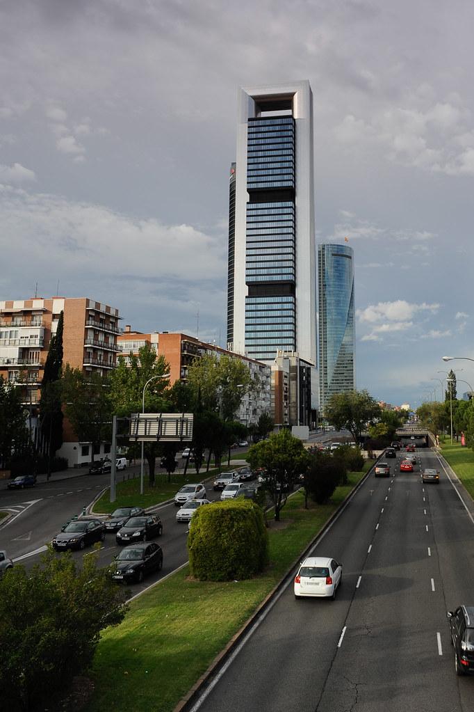 Torre caja madrid ctba con una altura exacta de 248 3 - Caja de arquitectos madrid ...