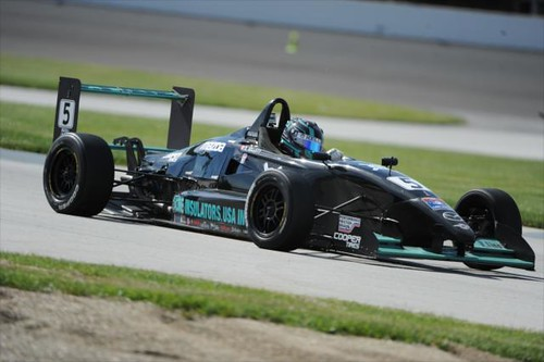 Dalton Kellett at IMS | by indianapolismotorspeedway.com