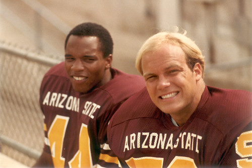 1980 ASU Football - Willie Gittens and Bryan Caldwell | by searchnetmedia