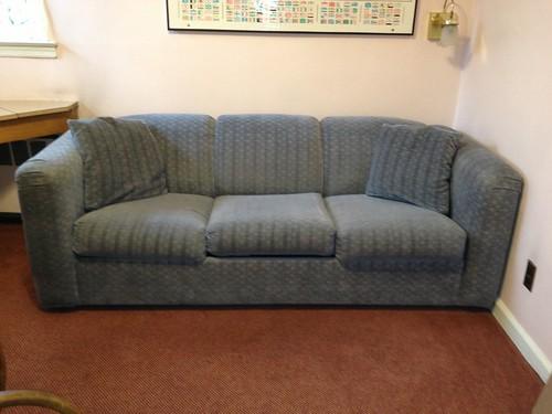 Cotton velour sofa bed 50 good condition 28 1 2 h x for Velour divan beds
